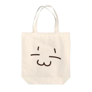 まめてるの顔 Tote bags