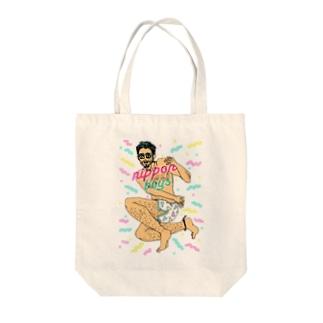 nippon boyz Tote bags