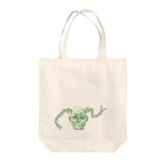 オサゲ神 Tote bags