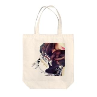 チョーカー女子 Tote bags
