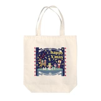cuteXmas Tote bags