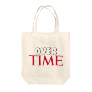 OVER TIME Tote bags