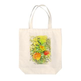 ほおずき Tote bags