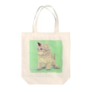 萌獣 猫 ユニャコーン/ゆにゃんこ:たけのこの里 Tote bags