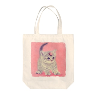 萌獣 猫 ユニャコーン/ゆにゃんこ:アポロ Tote bags