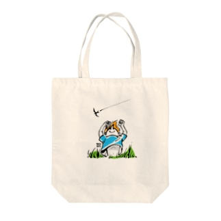 夏の子 Tote bags