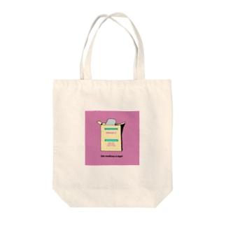 Vitamin C Tote bags