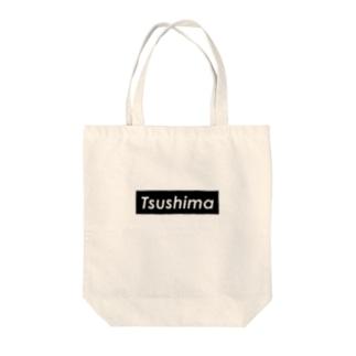 TSUSHIMA SQUARE Tote bags