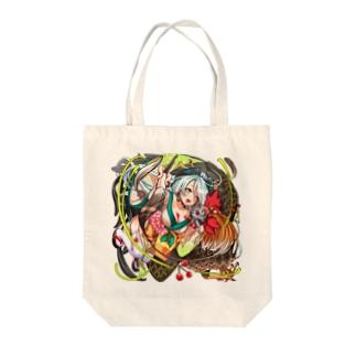 にわとりちゃん Tote bags