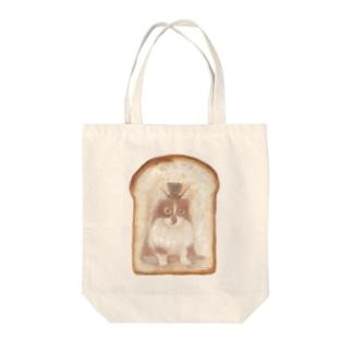 トーストにゃんこA Tote bags