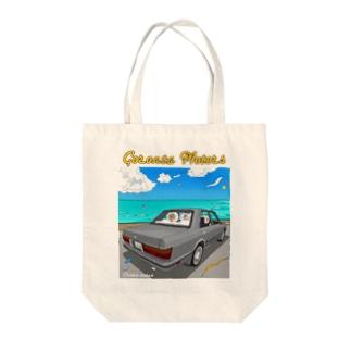 130セダン✖️80's Tote bags