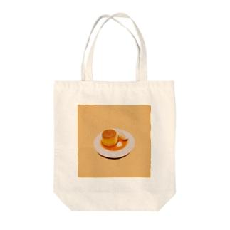 プリンです。 Tote bags