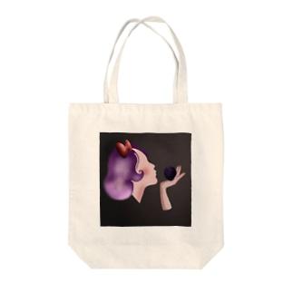 毒林檎と少女 Tote bags
