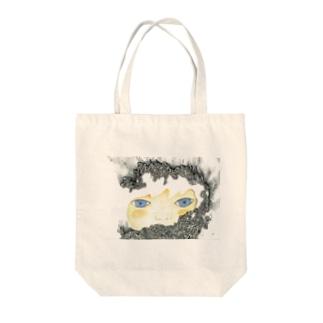 私を創る Tote bags