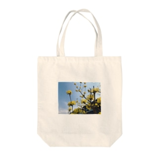 namaste99の黄色い花 Tote bags