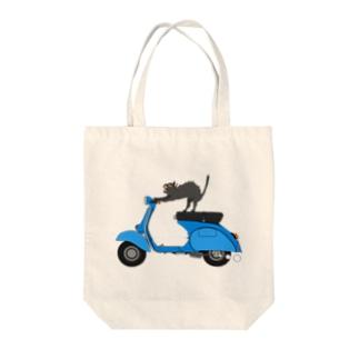 ベスパ猫 Tote Bag