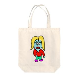 いばくん Tote bags