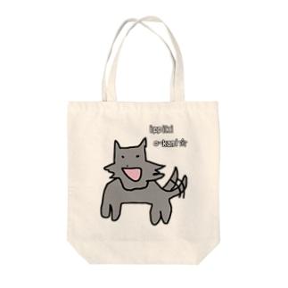 一匹狼 Tote bags