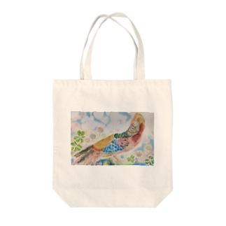 鳥 やさん。   錦鶏  Tote Bag