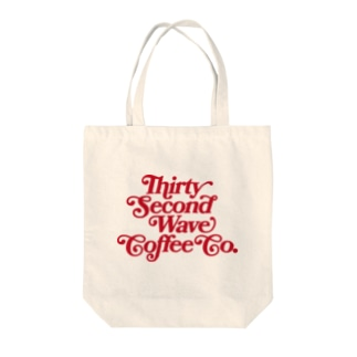 32nd Wave Coffee - Thank you Logo Tote bags