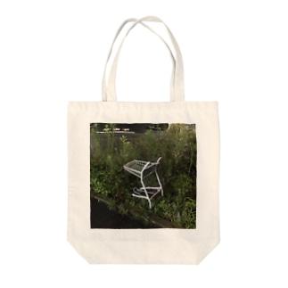 野生のカート Tote bags