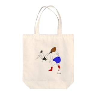味のプロレス 闘魂編 Tote bags
