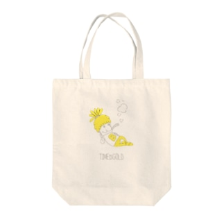 TIMEISGOLD Tote bags
