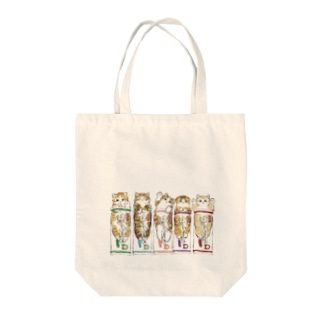 mofusandのコッペにゃん Tote bags