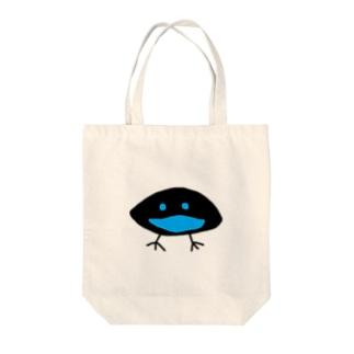 カタカケフウチョウ Tote bags
