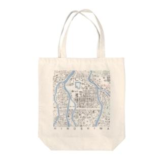 シティ・ヒロシマ Tote bags