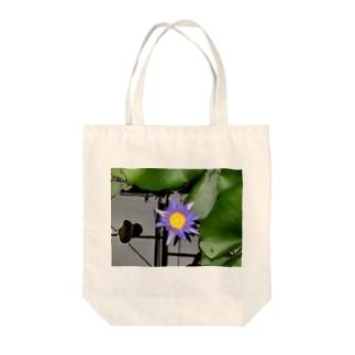 蓮の目 Tote bags