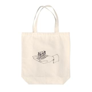 井上円了ちゃん Tote bags