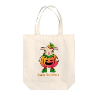 ポリー・ドーセットの楽しいハロウィン Tote bags