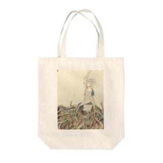 うんざり Tote bags