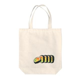 巻き巻き寿司 Tote bags