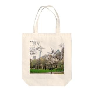 ニューヨーク、セントラルパーク春 Tote bags