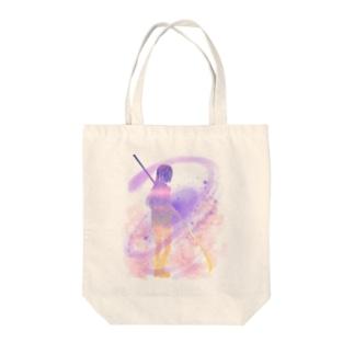 薙刀少女 Tote bags