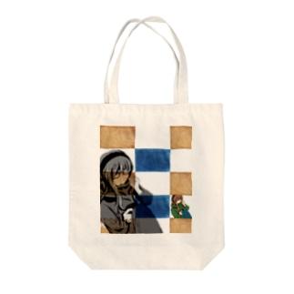 配信一周年記念 Tote bags