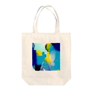海クラゲ Tote bags
