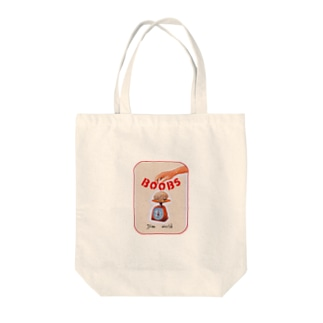 BOOBS Tote bags
