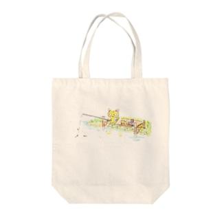 ねこ&くま Tote bags