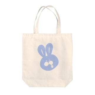 うさペロ【ブルー】 Tote bags