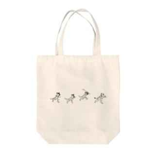 サバンナ鳥獣戯画 Tote bags