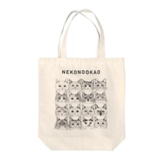 第6回同窓会/NEKONOOKAO/16CATS Tote bags