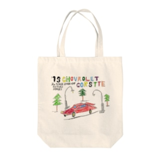 CHOVROLET CORSTTE Tote bags