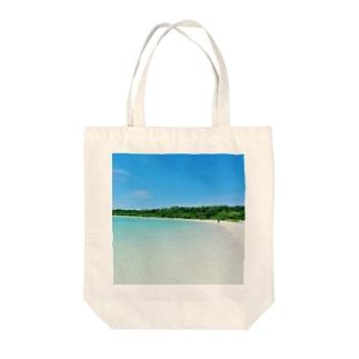 夏の海2 Tote bags