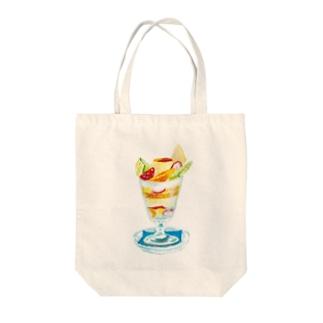 パフェ Tote bags