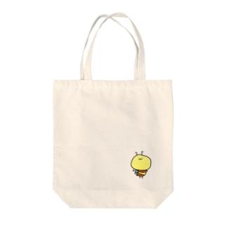 【みんかお】低音はち  Tote bags