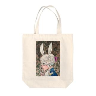 アリスを探して Tote bags