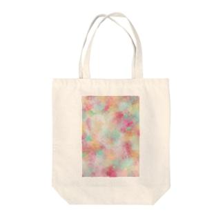 HAPPY CALLA Tote bags